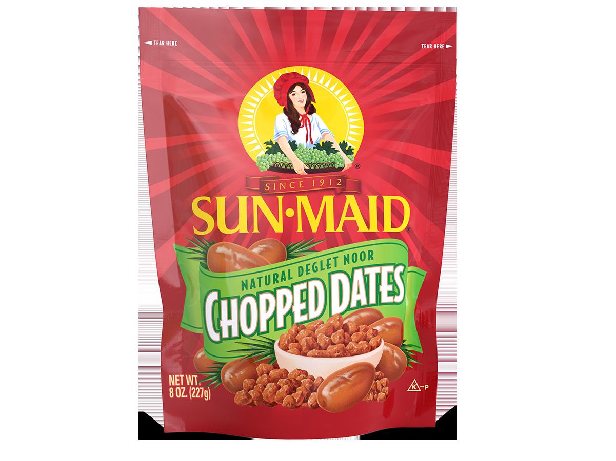 Sun-Maid Natural Deglet Noor Chopped Dates 8 oz. bag